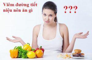Bị viêm đường tiết niệu nên ăn gì