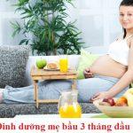 Sức khỏe bà bầu 3 tháng đầu cần chú ý những gì